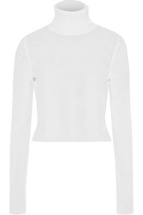 A.L.C. Jones open-knit turtleneck sweater