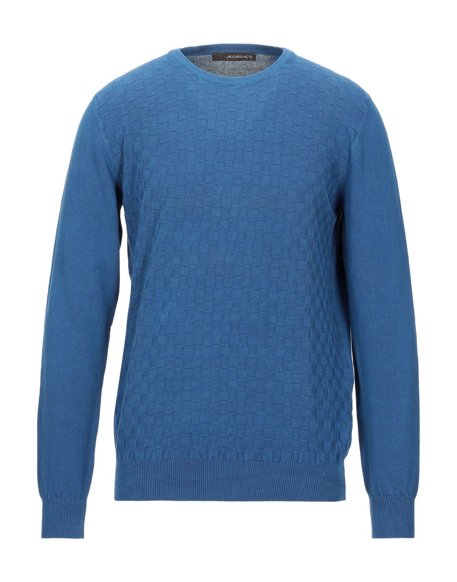 《セール開催中》JEORDIE'S メンズ プルオーバー ブルー XL コットン 100%