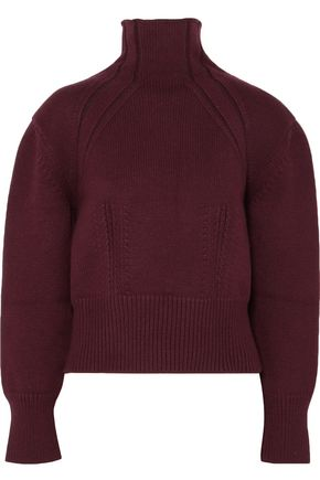 BOTTEGA VENETA Wool-blend turtleneck sweater
