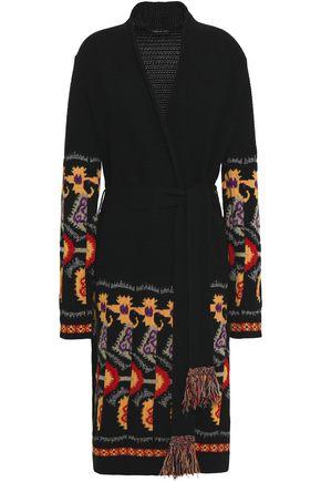 ETRO Wool-blend jacquard cardigan