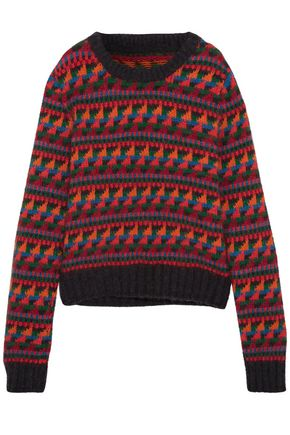 BURBERRY ウール混 ジャカード セーター