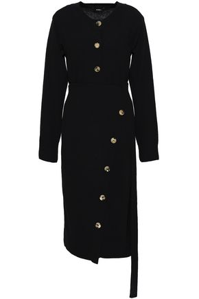 GOEN.J Wool and cashmere-blend dress
