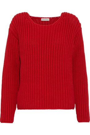 MANSUR GAVRIEL Ribbed cotton-blend sweater