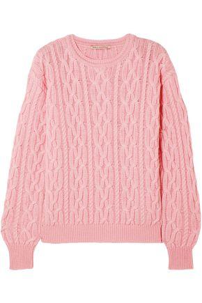 EMILIA WICKSTEAD Cable-knit merino wool sweater