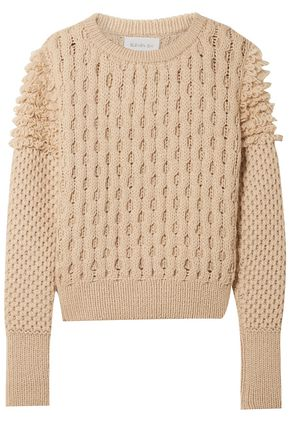 ELEVEN SIX Jacquard-knit sweater