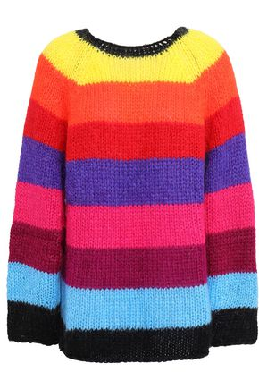 BA&SH Rivera striped knitted sweater
