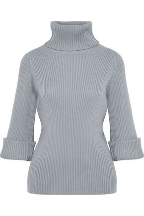 REDValentino Ribbed wool turtleneck sweater