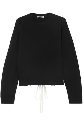 JIL SANDER Open-back lace-up cashmere sweater