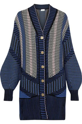 PETER PILOTTO Crochet-knit cotton-blend cardigan