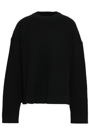 JOSEPH Wool and cotton-blend sweater