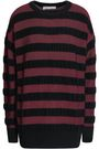 MICHAEL MICHAEL KORS Striped merino wool-blend sweater