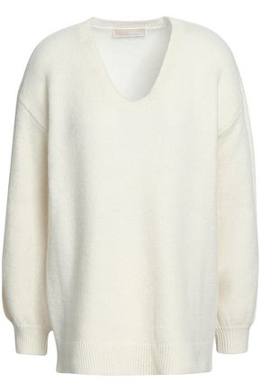 MICHAEL MICHAEL KORS Wool and alpaca-blend sweater