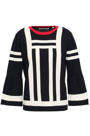 CHINTI AND PARKER Intarsia cotton sweater