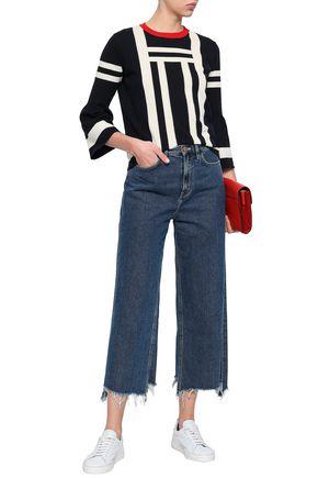 CHINTI AND PARKER Intarsia cotton sweater