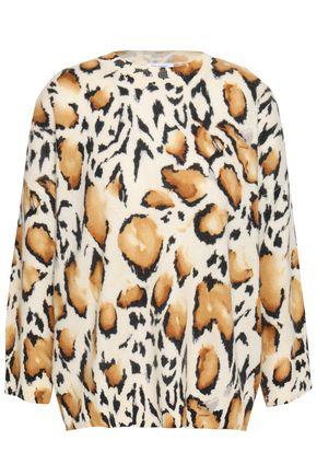EQUIPMENT Leopard-print cashmere sweater