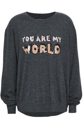 MARKUS LUPFER Embellished cotton sweater