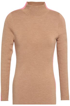 PAPER London Knoxville striped wool-blend sweater