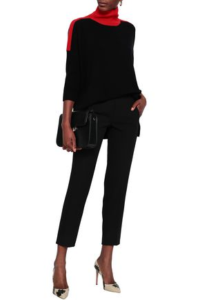 AMANDA WAKELEY Cashmere and wool-blend turtleneck sweater