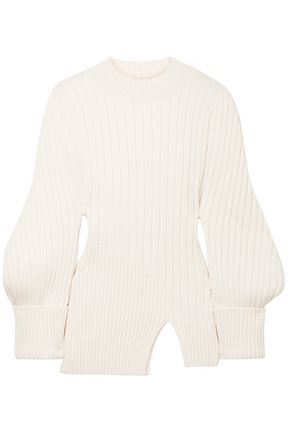 JACQUEMUS Pablo ribbed wool sweater