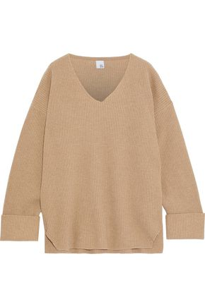 IRIS & INK Rachel oversized merino wool sweater