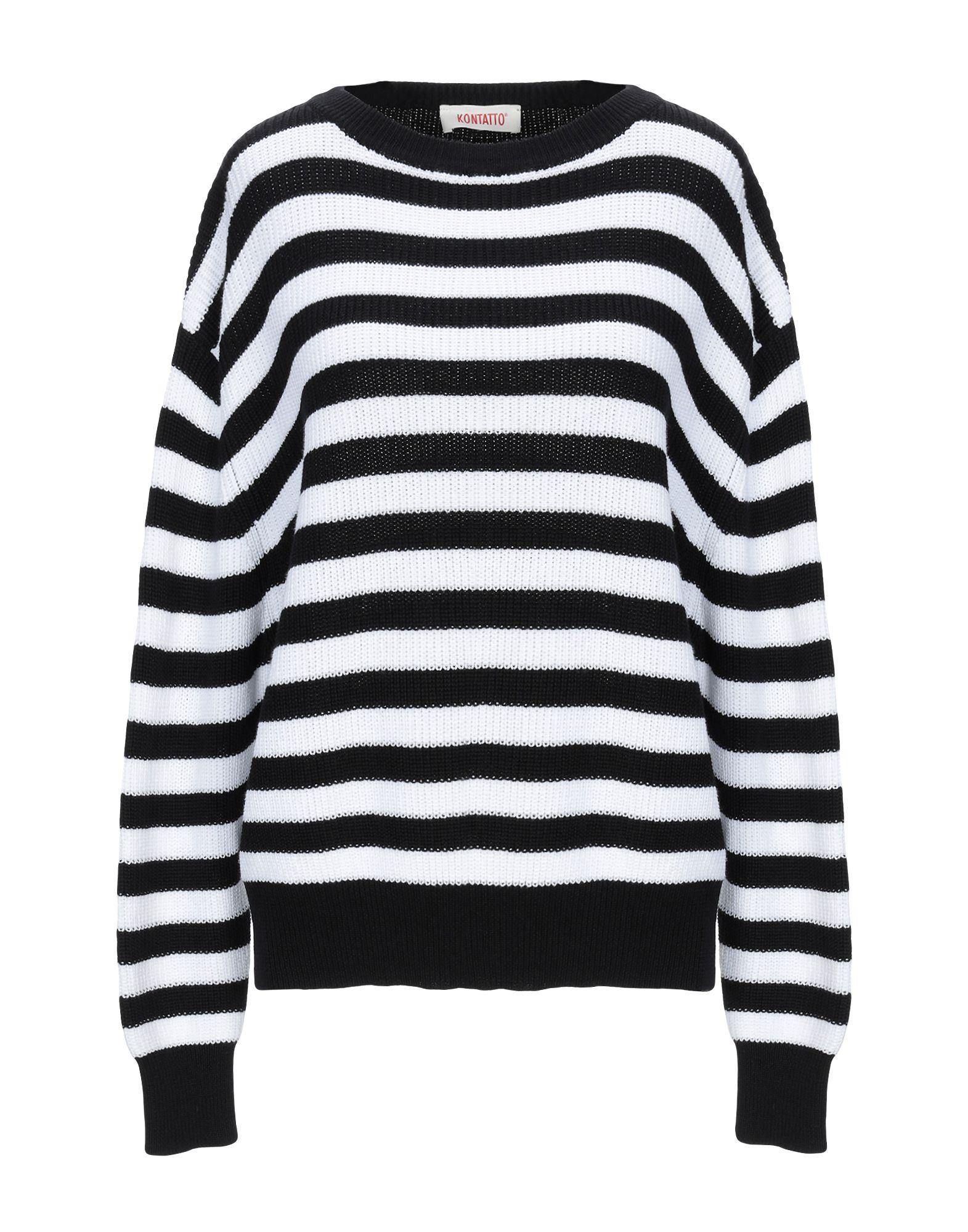 KONTATTO Свитер мужской свитер в полоску 52