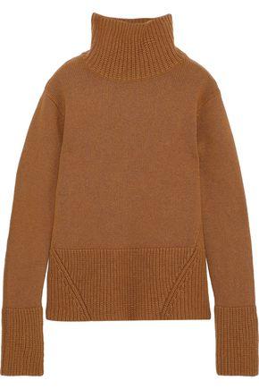 IRIS & INK メリノウール タートルネックセーター
