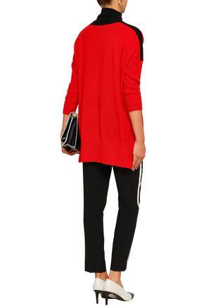 AMANDA WAKELEY Cashmere and wool-blend turtleneck sweater