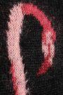 SAINT LAURENT Intarsia-knit mohair-blend sweater