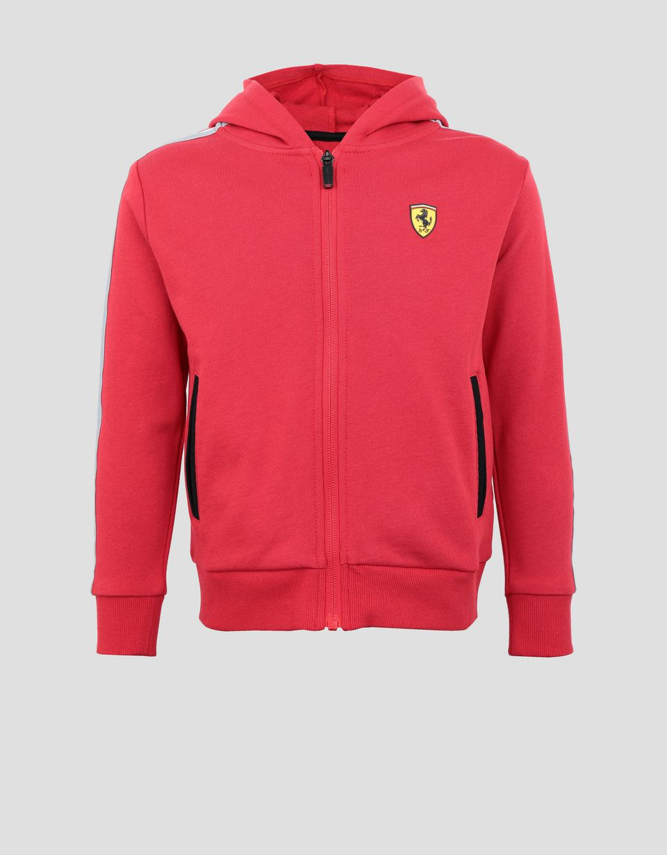 Scuderia Ferrari Online Store - Hooded unisex children's French terry top -