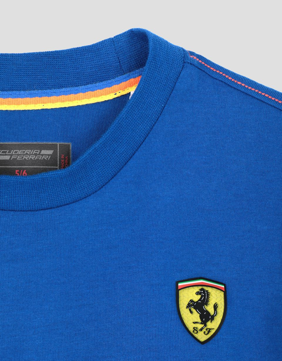 "Scuderia Ferrari Online Store - Children's cotton T-shirt with ""LEGEND"" print - Short Sleeve T-Shirts"