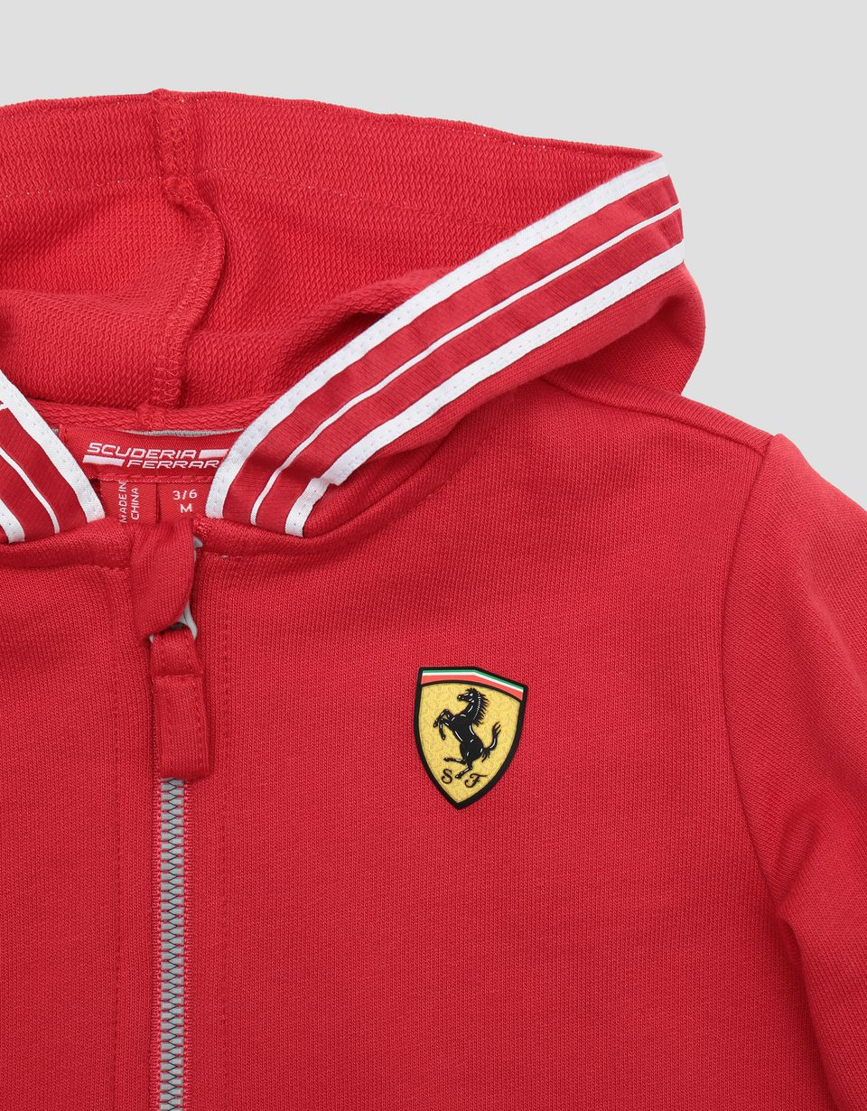 Scuderia Ferrari Online Store - Infant French terry top with Icon Tape -