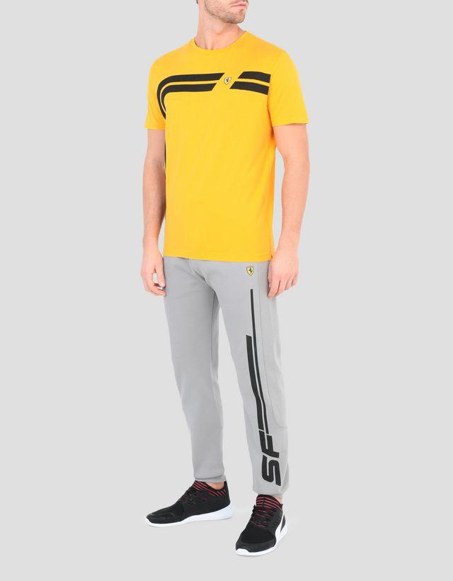 ce59d256d ... Scuderia Ferrari Online Store - Men's printed cotton T-shirt - Short  Sleeve T-
