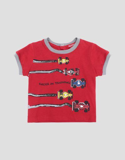 T-shirt neonato con stampa monoposto da corsa ... bb6c9c007b0