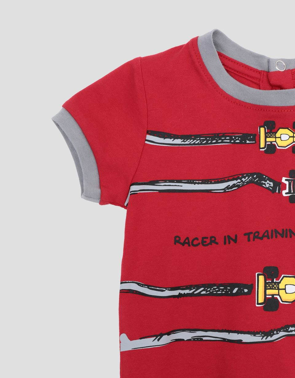 Scuderia Ferrari Online Store - Infant's T-shirt for boys with racing car print -