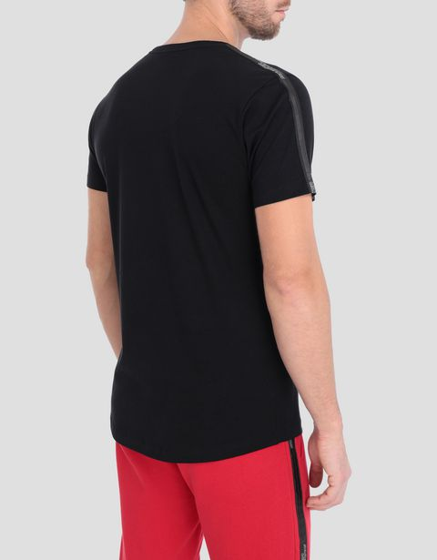 Men's stretch jersey T-shirt with Icon Tape