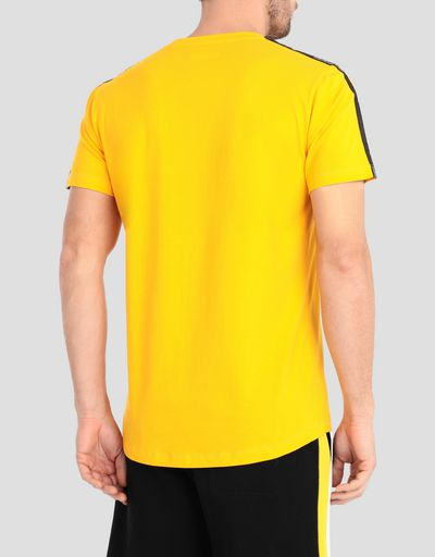 Herren-Jersey-T-Shirt mit Icon Tape