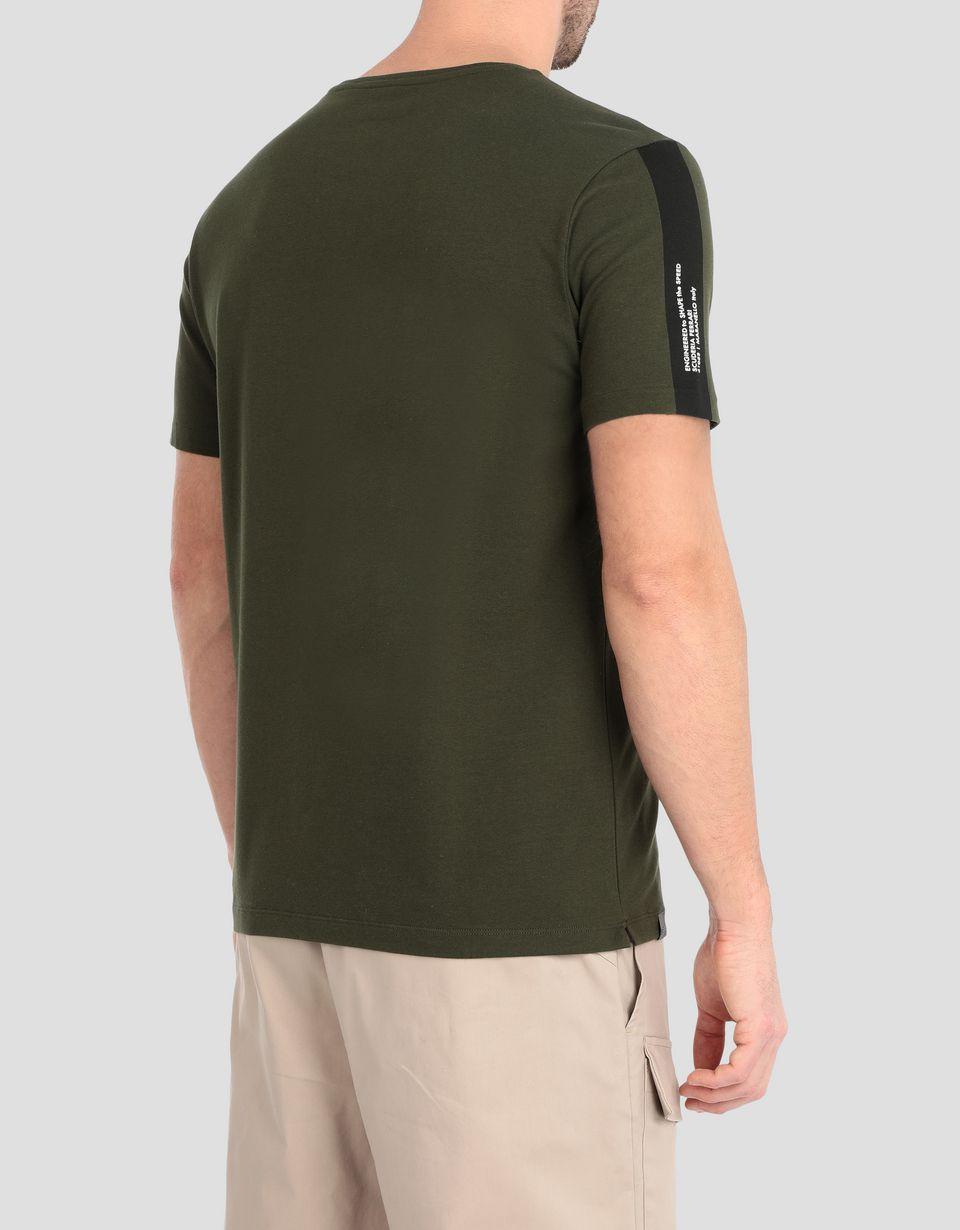 Scuderia Ferrari Online Store - Men's T-shirt with Scuderia Ferrari print -