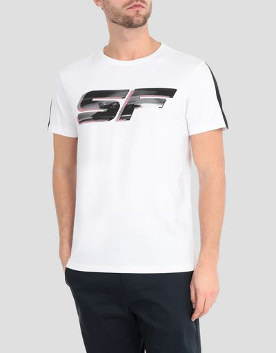 Men's T-shirt with Scuderia Ferrari print