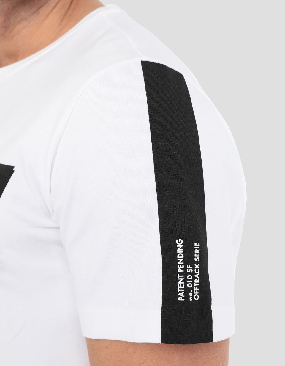 Scuderia Ferrari Online Store - T-shirt homme avec imprimé Scuderia Ferrari - T-shirts à manches courtes