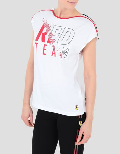 Women s jersey RED TEAM T-shirt ... 6eb566085