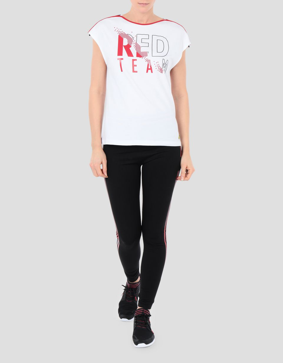 Scuderia Ferrari Online Store - Women's jersey RED TEAM T-shirt - Short Sleeve T-Shirts