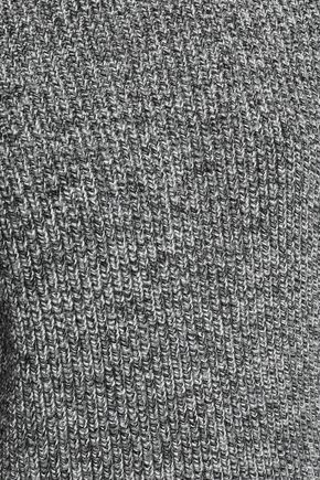 HELMUT LANG Distressed cotton-blend sweater