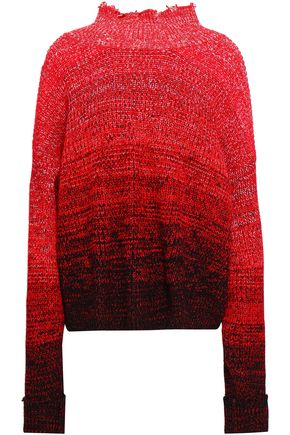 HELMUT LANG Dégradé wool-blend sweater