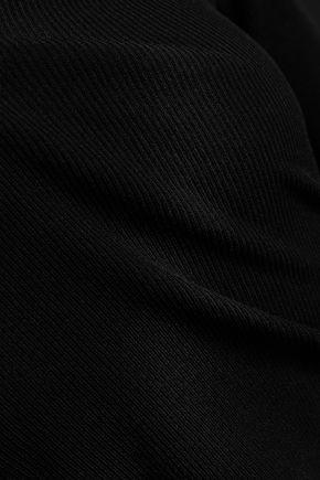 HELMUT LANG Cutout stretch-knit top
