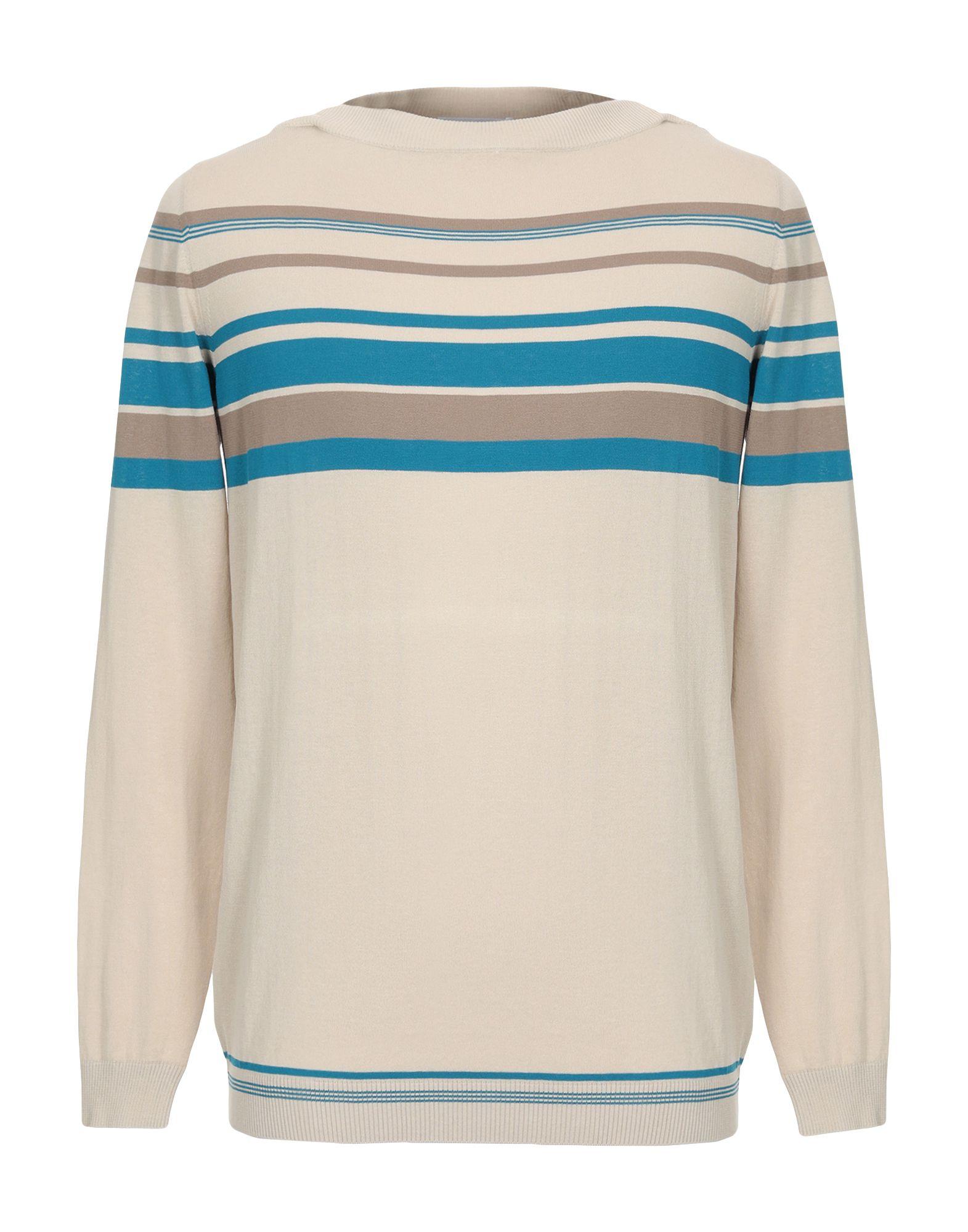 MALO Свитер мужской свитер в полоску 52