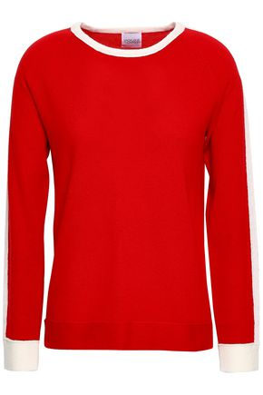 MADELEINE THOMPSON Sooty brushed wool and cashmere-blend sweater