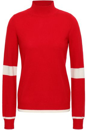MADELEINE THOMPSON Wool and cashmere-blend turtleneck sweater