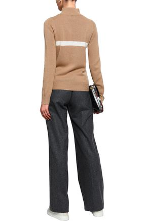 MADELEINE THOMPSON Wool and cashmere-blend sweater