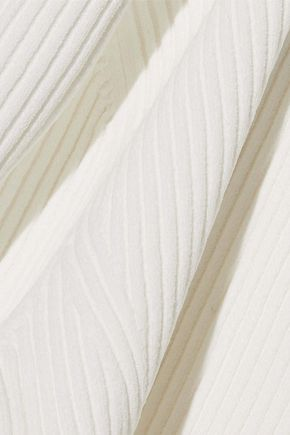IRIS & INK Pandora ribbed-knit top