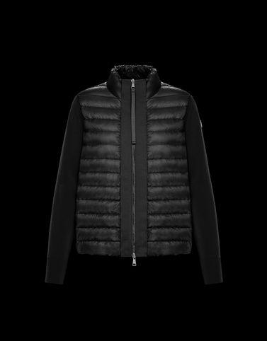 MONCLER STRICKJACKE - Wattierte tops - damen